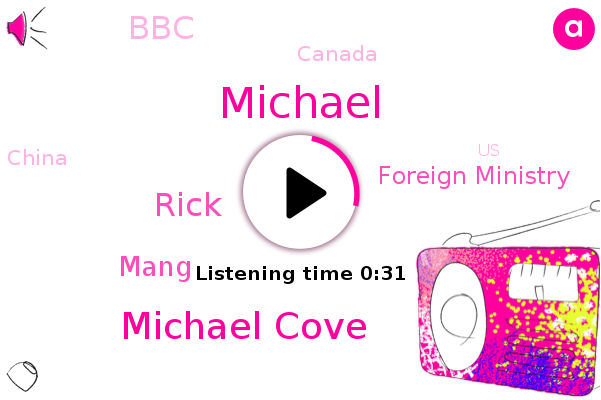 Foreign Ministry,Michael Cove,Canada,Confusion,Rick,Michael,China,Mang,United States,BBC