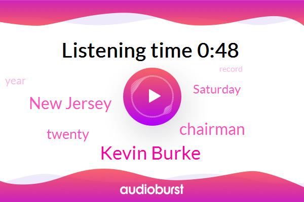 Kevin Burke,New Jersey,Chairman
