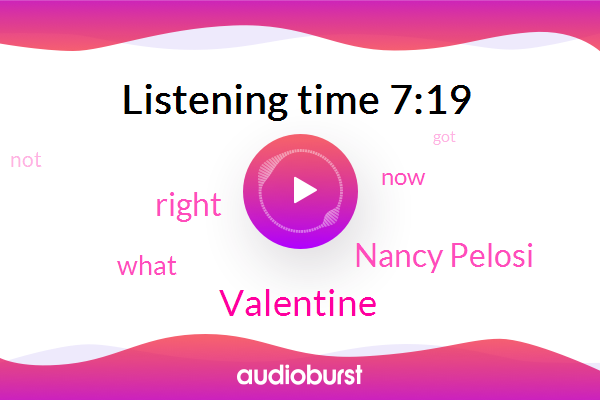 Valentine,Nancy Pelosi