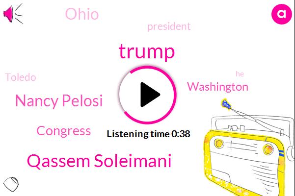 Listen: President Trump rallies supporters in Ohio