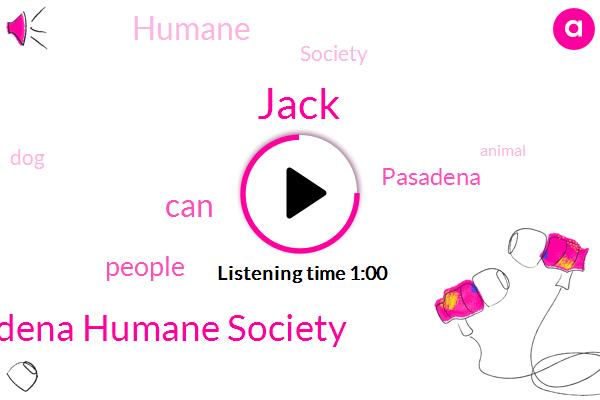 Pasadena Humane Society,Jack