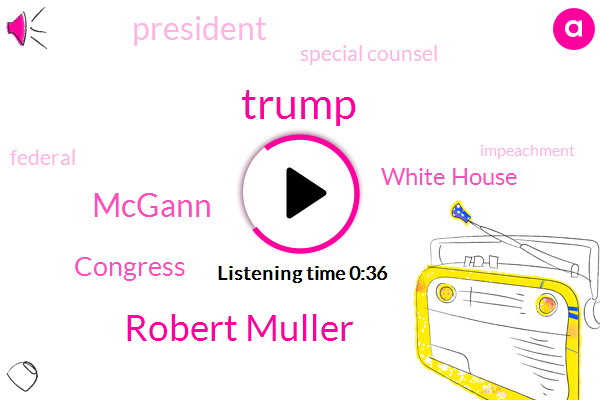 Congress,Donald Trump,Special Counsel,Robert Muller,Mcgann,White House,President Trump
