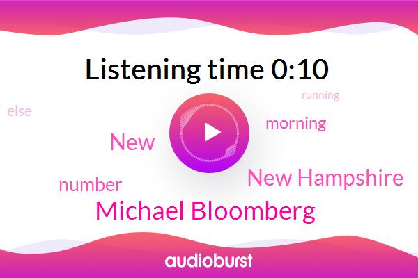 New Hampshire,Michael Bloomberg