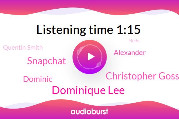 Dominique Lee,Christopher Gosse,Cincinnati,Warren County,Assault,Snapchat,Dominic,Alexander,Quentin Smith,Rape,Reds