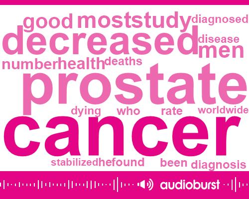 Listen: Prostate cancer diagnoses, deaths decreasing worldwide, study says