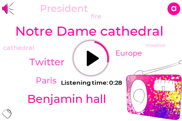 Listen: Fire rages in Notre Dame Cathedral in Paris
