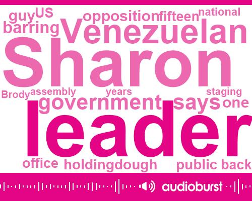 Sharon Brody,Venezuelan Government,President Nicolas,United States,Fifteen Years