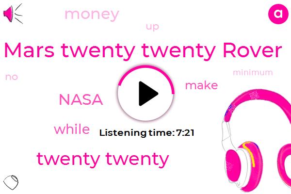 Mars Twenty Twenty Rover,Twenty Twenty,Nasa