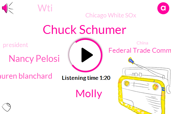 President Trump,Federal Trade Commission,WTI,Chicago White Sox,Chuck Schumer,Molly,Nancy Pelosi,Lauren Blanchard,China,FOX