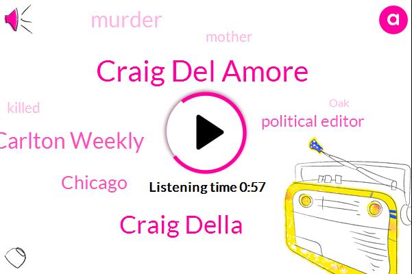 Murder,Craig Del Amore,Carlton Weekly,Chicago,Craig Della,Political Editor