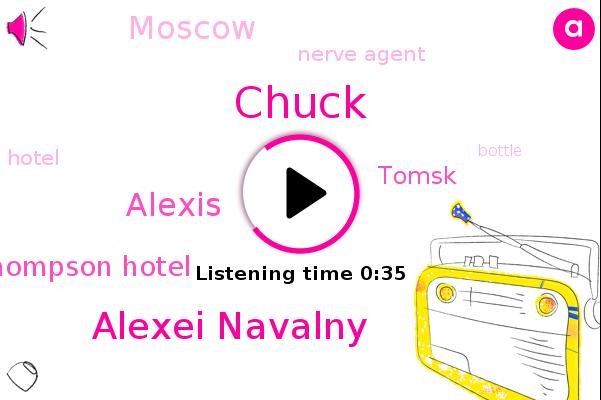 Alexei Navalny,Thompson Hotel,Nerve Agent,Tomsk,Chuck,Moscow,Alexis