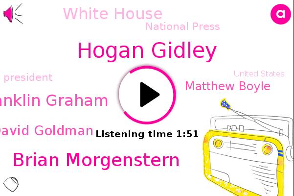 White House,America,President Trump,United States,Hogan Gidley,Brian Morgenstern,Franklin Graham,Press Secretary,National Press,David Goldman,Matthew Boyle