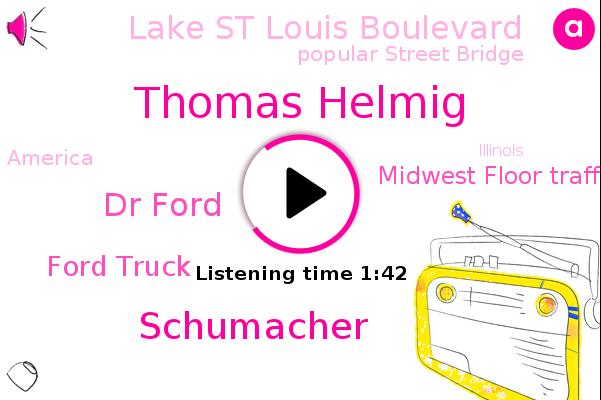 Thomas Helmig,Ford Truck,Midwest Floor Traffic Center,Lake St Louis Boulevard,Popular Street Bridge,America,Illinois,Schumacher,Dr Ford