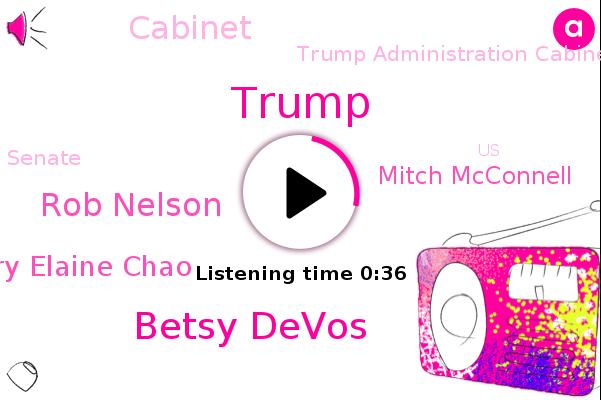Listen: Education Secretary Betsy DeVos resigns, citing violence at the Capitol