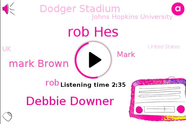 Dodger Stadium,Rob Hes,Debbie Downer,Mark Brown,Johns Hopkins University,UK,United States,ROB,Mark
