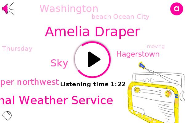 Amelia Draper,National Weather Service,SKY,Upper Northwest,Hagerstown,Washington,Beach Ocean City