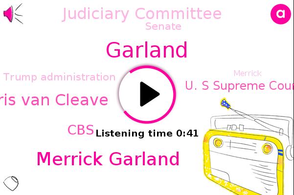Listen: Merrick Garland Finally Gets His Senate Confirmation Hearing