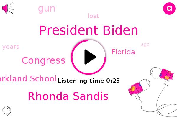 Listen: Biden Calls for Tougher Gun Laws on Anniversary of Parkland Shooting