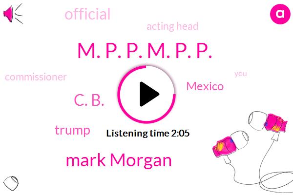 Mexico,Official,Acting Head,Commissioner,M. P. P. M. P. P.,John,Mark Morgan,C. B.,Donald Trump