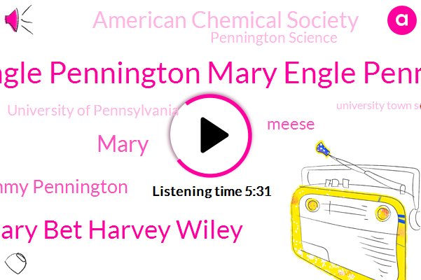 Mary Engle Pennington Mary Engle Pennington,Mary Bet Harvey Wiley,Professor,American Chemical Society,Mary,Philadelphia,Emmy Pennington,Pennington Science,Nashville,Tennessee,University Of Pennsylvania,The New Yorker,Meese,Philadelphia Clinical Laboratory,Pennsylvania,University Town Scientific School,Garvan Olin Medal