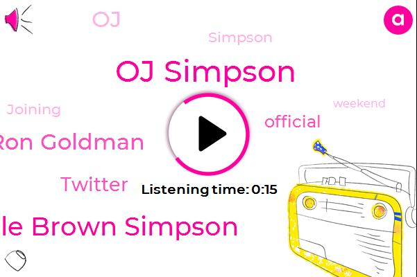Oj Simpson,Nicole Brown Simpson,Ron Goldman,Twitter,Official,Twenty Fifth