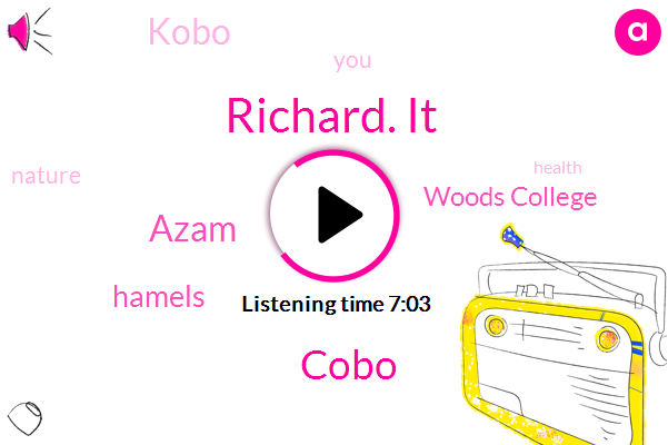 Richard. It,Cobo,Woods College,Azam,Hamels,Kobo