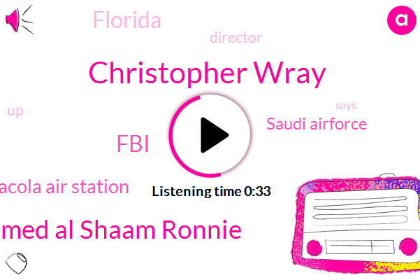 FBI,Florida,Director,Christopher Wray,Mohammed Al Shaam Ronnie,Pensacola Air Station,Saudi Airforce