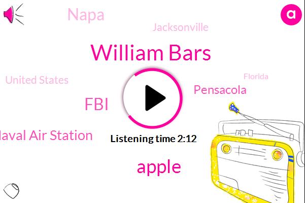FBI,Pensacola,Apple,Naval Air Station,Napa,William Bars,Jacksonville,United States,Florida,New York