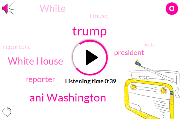 Listen: White House forces reporters to ditch social distancingWritethru