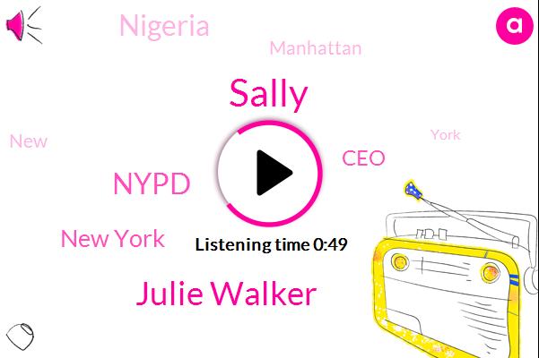 New York,Nypd,Sally,CEO,Nigeria,Manhattan,Julie Walker