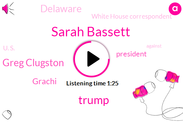 Sarah Bassett,Donald Trump,President Trump,Greg Clugston,Grachi,Delaware,White House Correspondent,U. S.