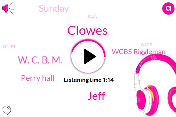 Clowes,Jeff,W. C. B. M.,Perry Hall,Wcbs Riggleman