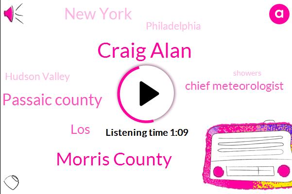 Craig Alan,Morris County,Passaic County,Hudson Valley,LOS,Chief Meteorologist,New York,Philadelphia