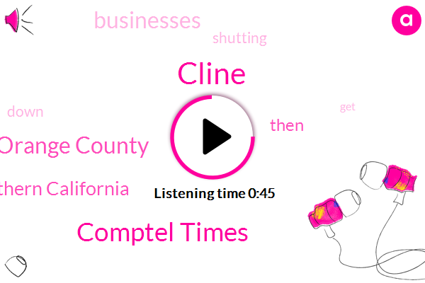 Cline,Orange County,Southern California,Comptel Times