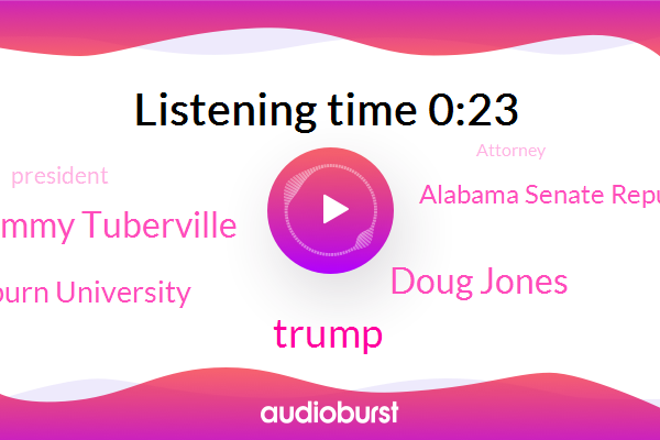 Donald Trump,President Trump,Doug Jones,Attorney,Auburn University,Football,Tommy Tuberville,Alabama Senate Republican,Senator