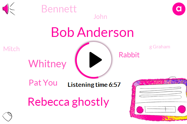 Bob Anderson,Rebecca Ghostly,Facebook,Whitney,Pat You,Twitter,Rabbit,Patna,Bennett,Papua,John,Mitch,G Graham,Robert,Oliver