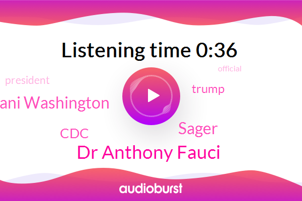 Official,Donald Trump,President Trump,Dr Anthony Fauci,AP,Sager,Ghani Washington,CDC