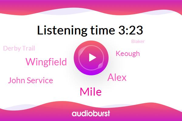 Mile,Wanna,Derby Trail,Alex,Blaker,The Mile,Wingfield,John Service,Churchill Downs,Keough,Necker Island