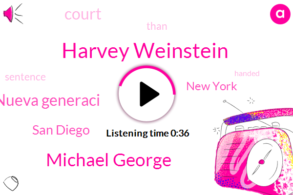 Harvey Weinstein,San Diego,Jalisco Nueva Generaci,Michael George,New York