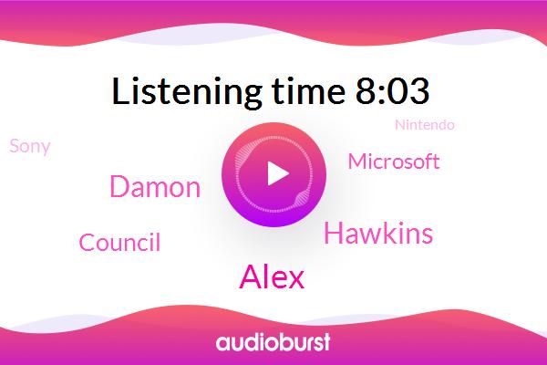 Council,Microsoft,Sony,Nintendo,Alex,Nexgen,Apple,Hawkins,Damon,Verizon,Playstations