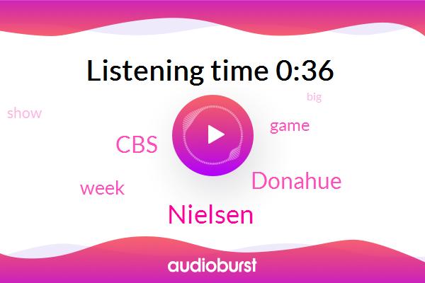 Nielsen,CBS,Donahue
