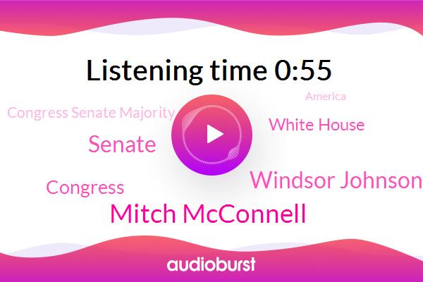 Mitch Mcconnell,Windsor Johnson,Congress,White House,Senate,Congress Senate Majority,America