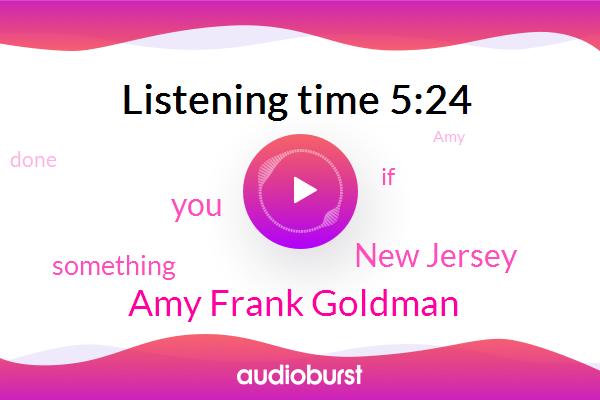 Amy Frank Goldman,New Jersey