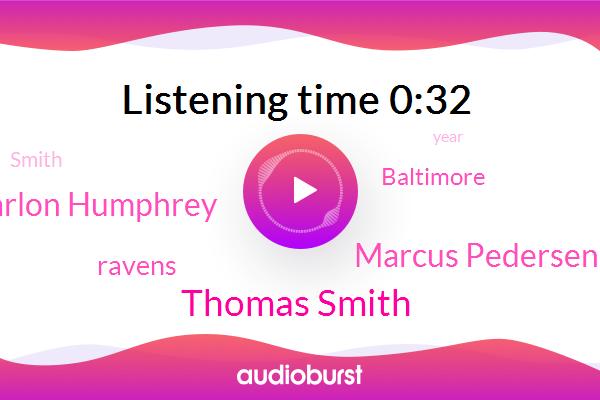 Thomas Smith,Ravens,Baltimore,Marcus Pedersen,Marlon Humphrey