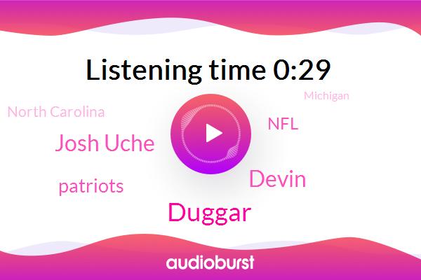 Patriots,Duggar,North Carolina,Michigan,Devin,NFL,Josh Uche,Dalton