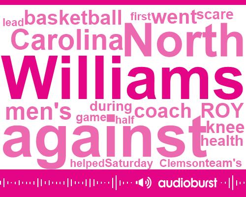Roy Williams,North Carolina,Clemson,Basketball,Boston College