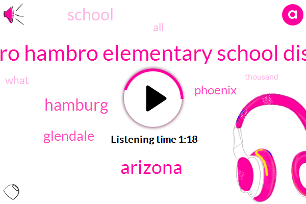 Arizona,Peavy,Hambro Elementary School District,Phoenix,Glendale,Hamburg,Seventy Eight Percent,Three Days