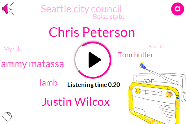 Seattle City Council,Komo,Chris Peterson,Seattle,Defensive Coordinator,Justin Wilcox,Tammy Matassa,Boise State,Myrtle,Philadelphia,Lamb,Berkeley,Tom Hutler,Three Million Dollars,Six Billion Dollars