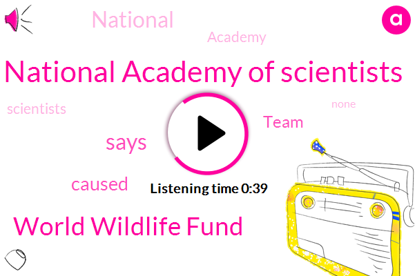 National Academy Of Scientists,World Wildlife Fund,Five Million Years,Fifty Years