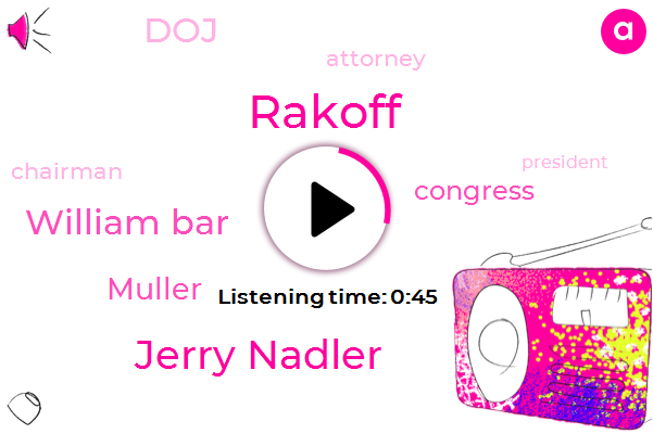 Jerry Nadler,Congress,Attorney,Rakoff,DOJ,Chairman,President Trump,William Bar,Muller